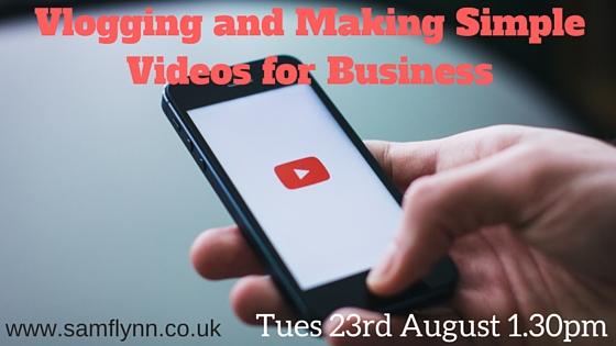 Vlogging for Business