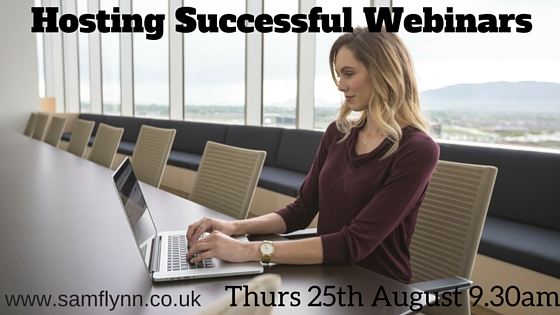 Hosting Successful Webinars