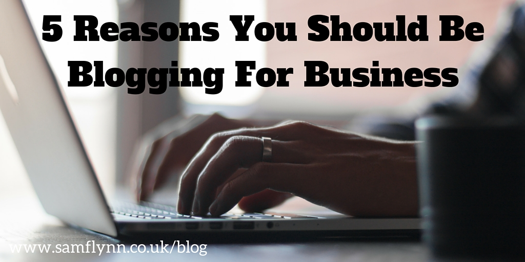 5 Reasons To Blog