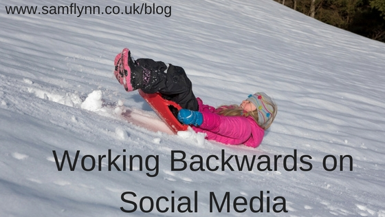 Working Backwards on Social Media
