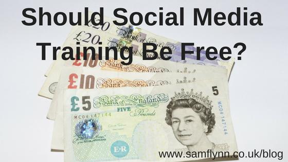 should-social-media-training-be-free