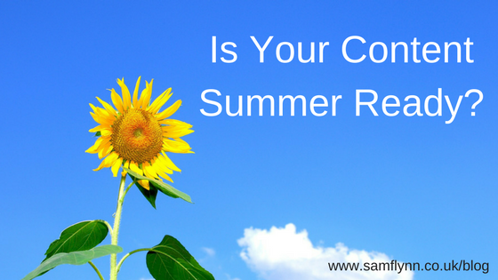 Is Your Content Summer Ready?